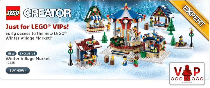 VIP 10235 Winter Village Market