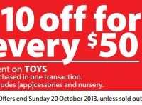 Myer October 2013 Sale
