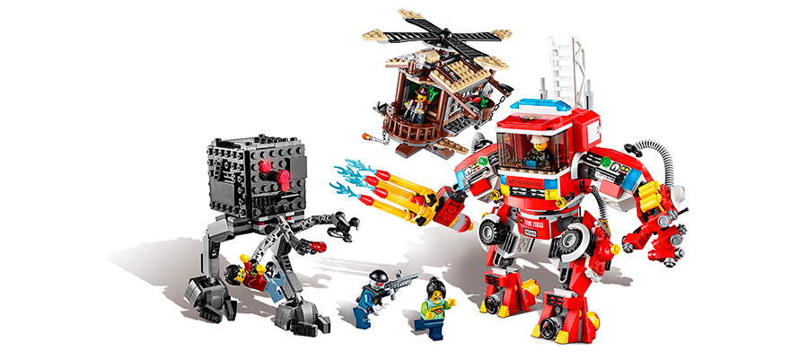 LEGO Movie - Fire Helicopter