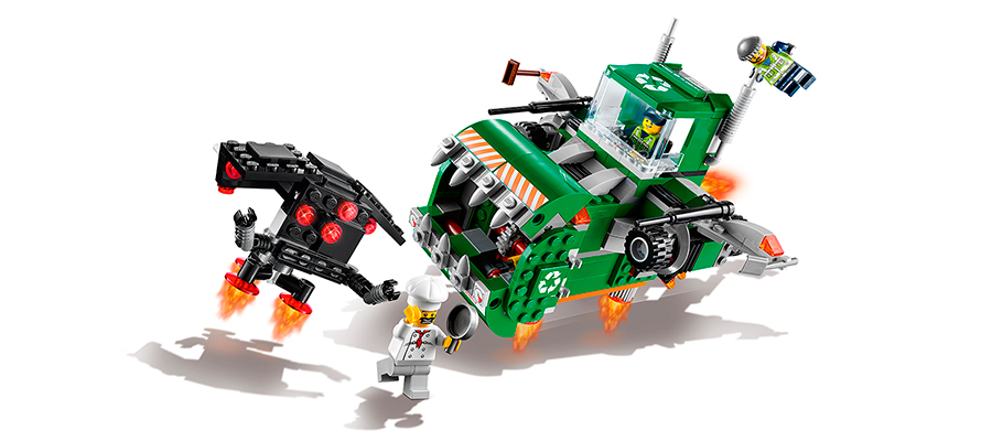 LEGO Movie - Trash Chomper