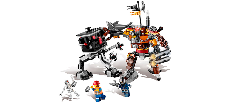 LEGO Movie - Metalbeard's Dual