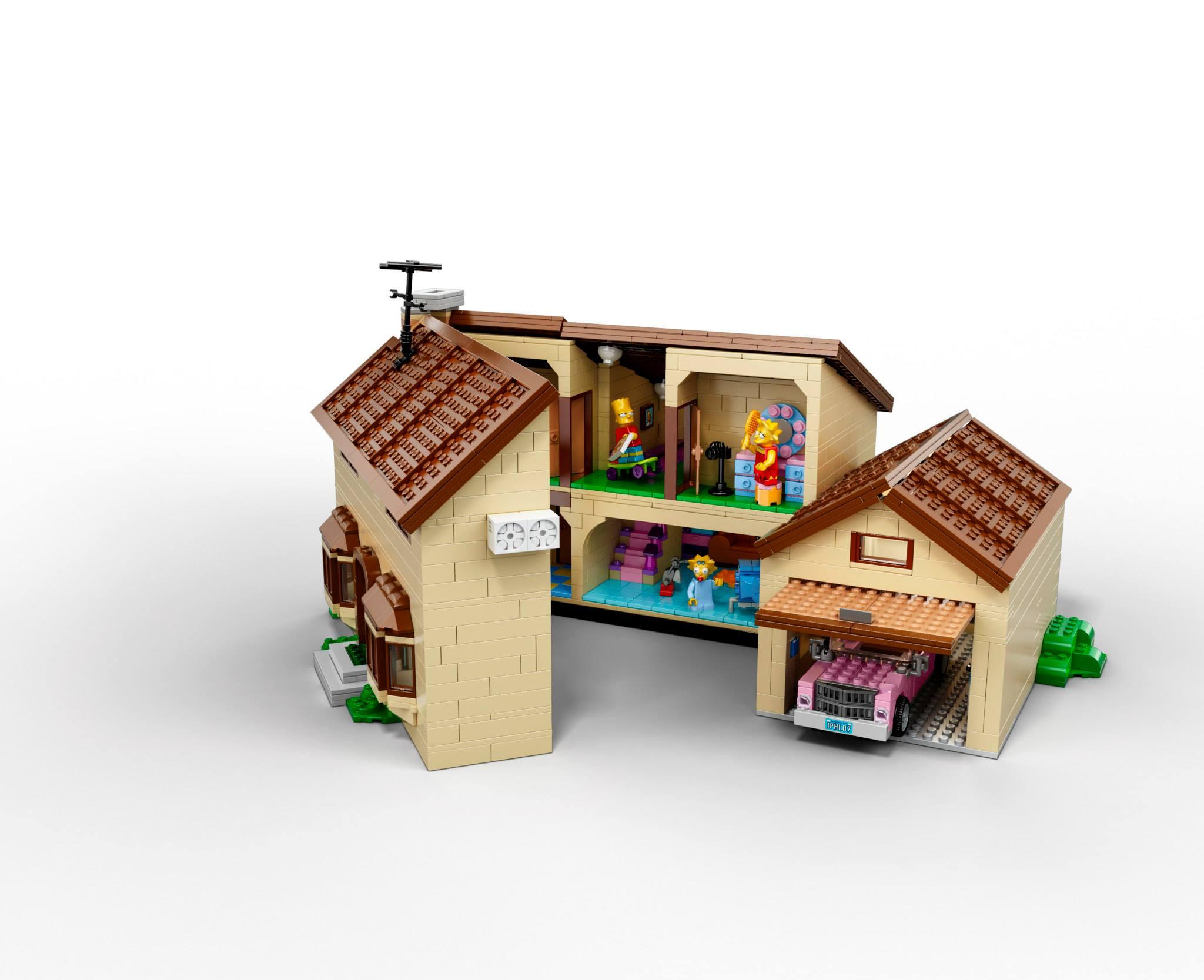 LEGO Simpsons House 03Lego Simpsons House