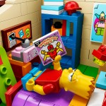 LEGO Simpsons House Bart Room