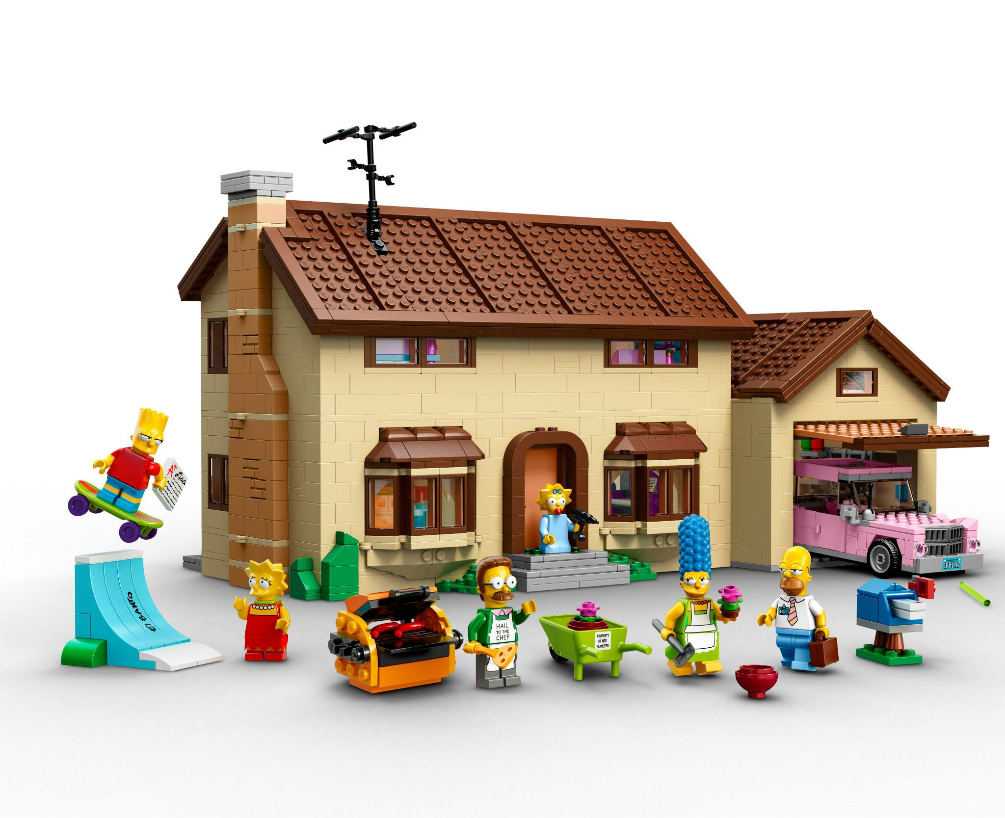 Lego Full House The Simpsons House Coming To Local Lego Retailers Bricking Around