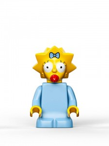 LEGO Simpsons House Maggie
