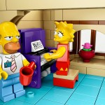 LEGO Simpsons House Piano
