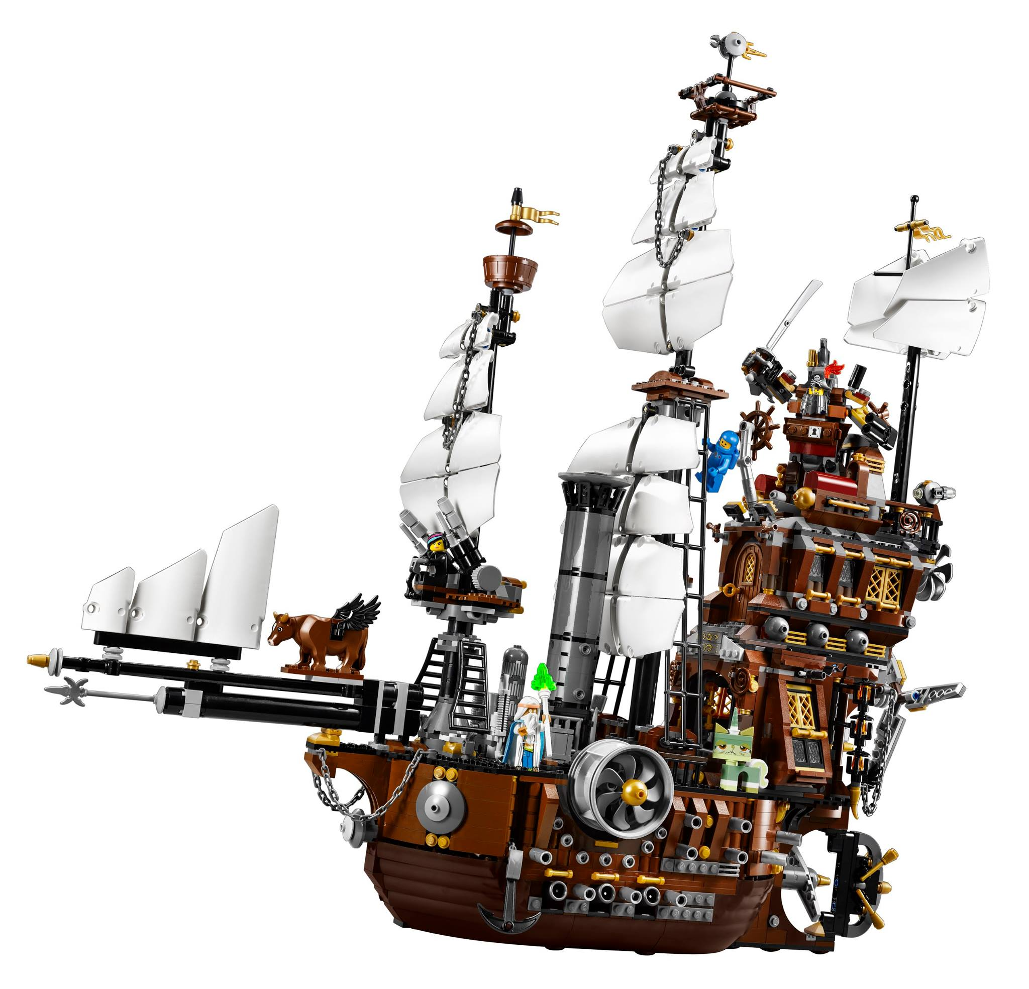 LEGO 70810 Metalbeard's Sea Cow 01