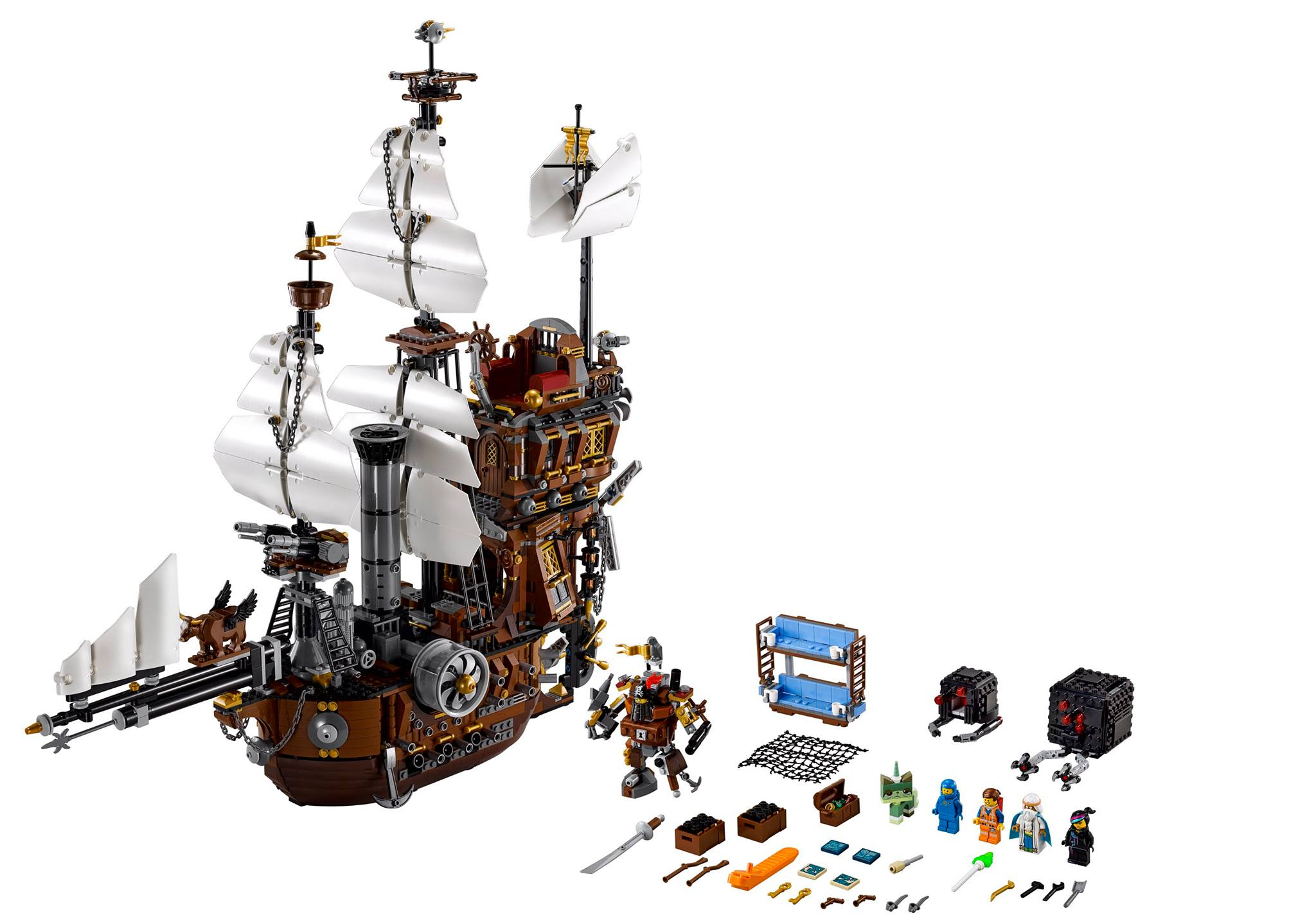 LEGO 70810 Metalbeard's Sea Cow 03
