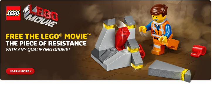 Free LEGO Movie Piece Of Resistance Set