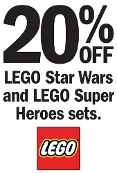 Target 20 Percent Off Star_wars Super_heroes