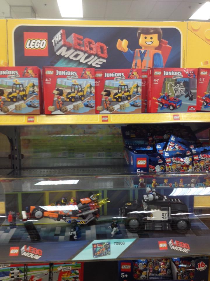 The LEGO Movie Big W Display B