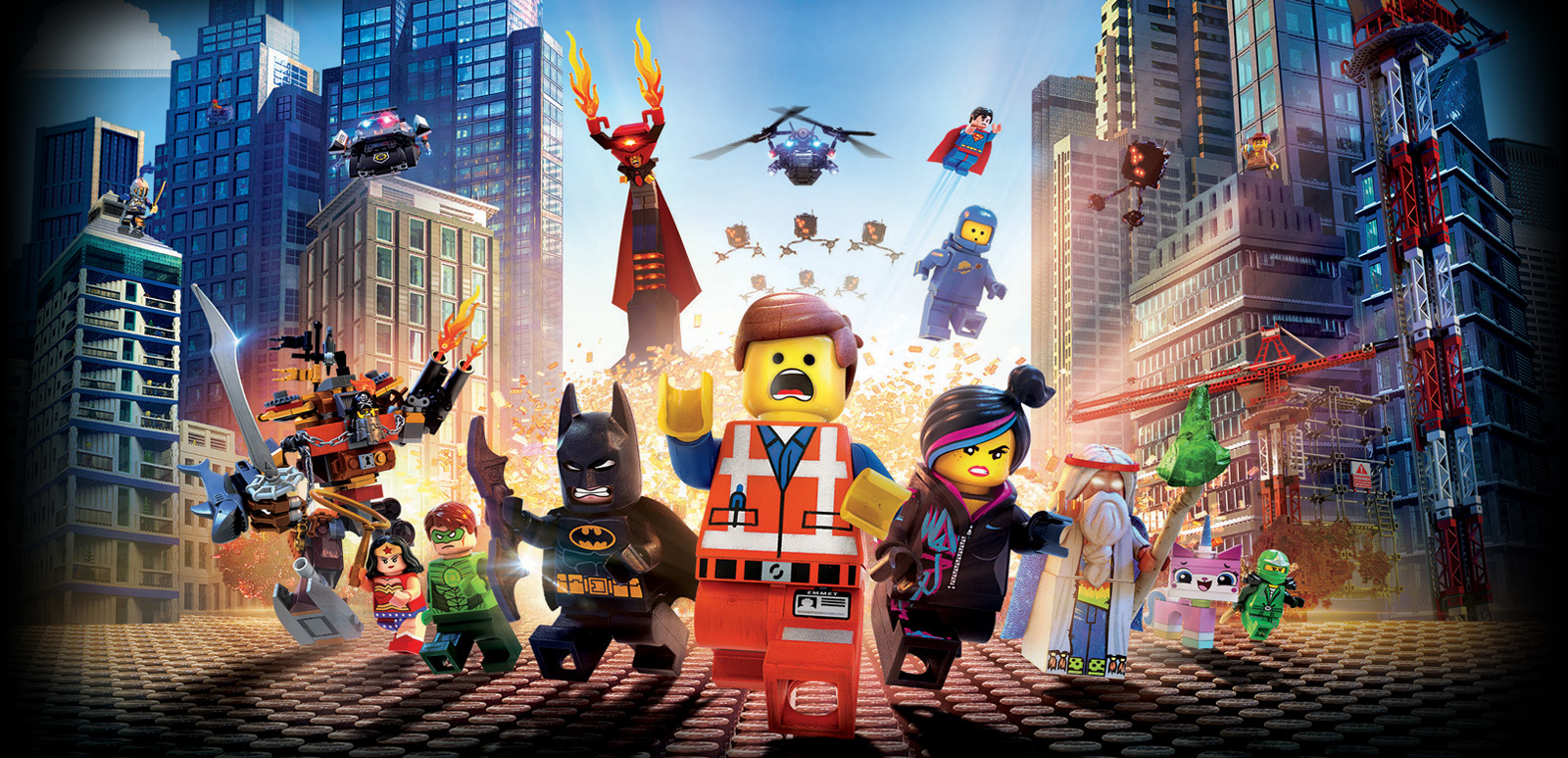 Pictures From The Lego Movie: The LEGO Movie Review