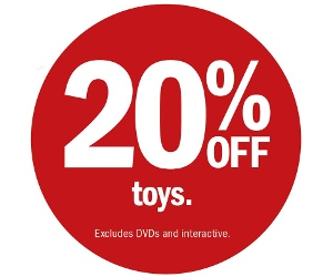 Target 20 Percent Off March 2014