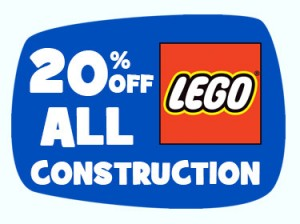 Toys R Us 20 Percent Off LEGO