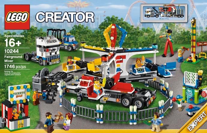 LEGO 10244 Fairground Mixer Box