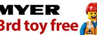 Buy 2 Get 1 Free Myer April