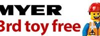 Buy 2 Get 1 Free Myer April