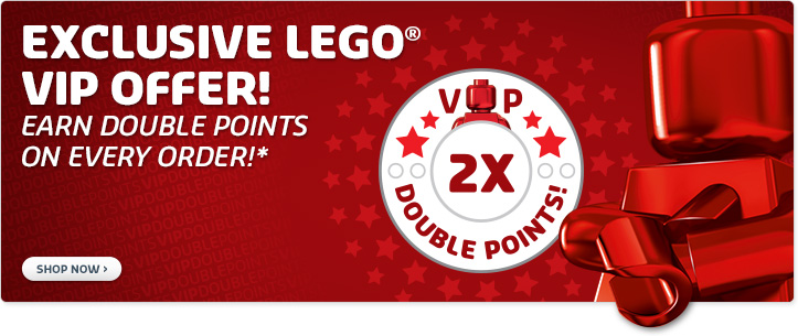 LEGO Double VIP Points April 2014