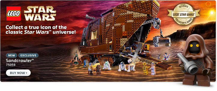 LEGO Star Wars 75059 Now Available