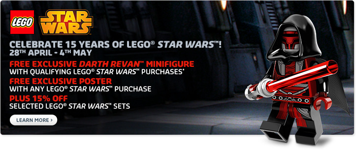 LEGO Star Wars May 4th Promo