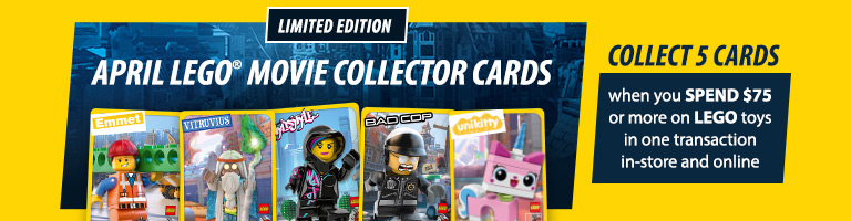 Myer LEGO Movie Card Giveaway