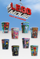 The LEGO Movie Happy Meal Cups