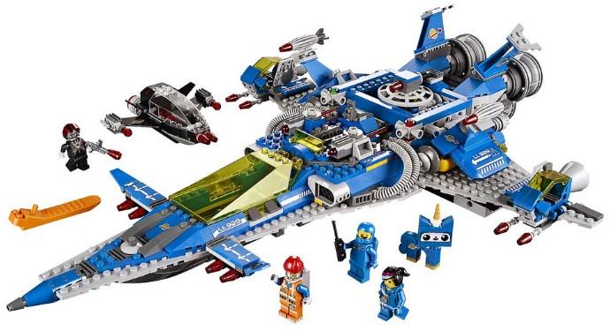 70816 Benny's Spaceship Spaceship Spaceship!