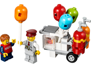 LEGO 40108 Balloon Cart