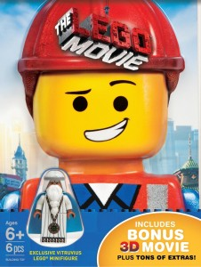 The LEGO Movie Bluray