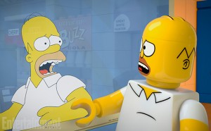 The Simpsons Brick Like Me