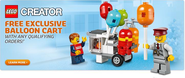 Free LEGO Balloon Cart Set