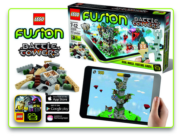 LEGO Fusion Battle Towers