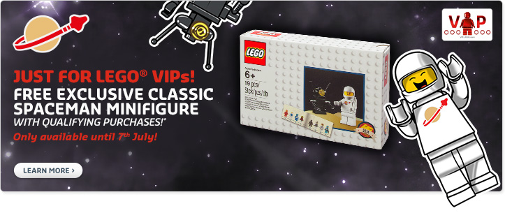 LEGO VIP July Offer Classic Spaceman