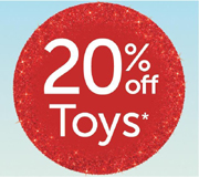 Target 20 Percent Off December 2014