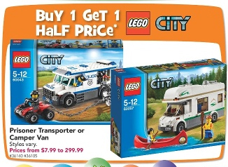 Toys R Us City B1G1 Half Price