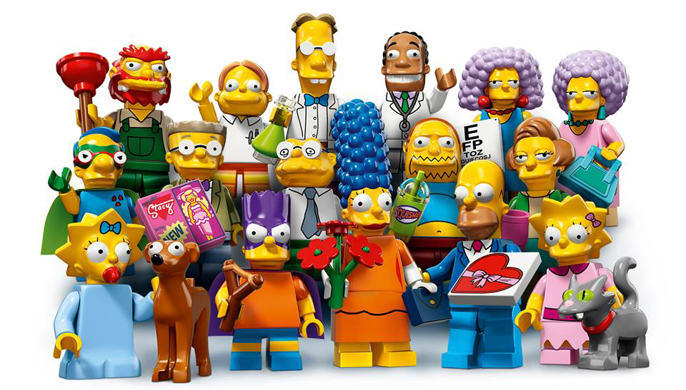 The Simpsons Minifigures Series 2 Cropped