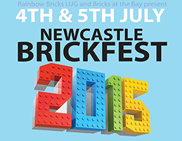 Newcastle Brickfest 2015 Logo