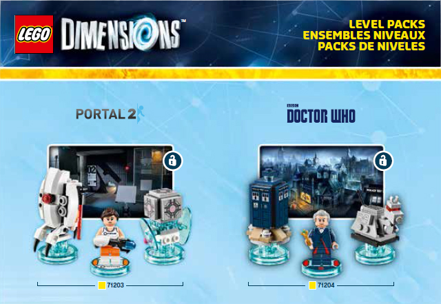 Portal and Doctor Who Levels