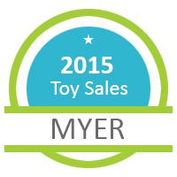 2015 Toy Sale Logo Myer
