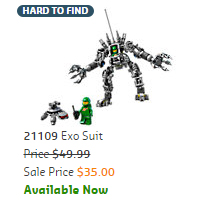 21109 Exo Suit On Sale