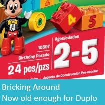 Bricking Around Second Birthday