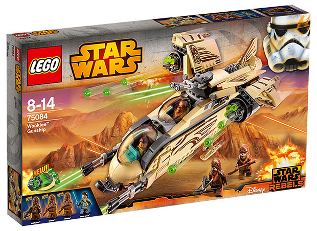 LEGO Star Wars Wookiee Gunship 75084 Box
