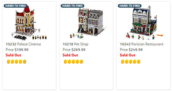 Modulars Sold Out