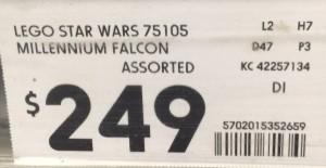 Kmart 75105 MILLENNIUM FALCON
