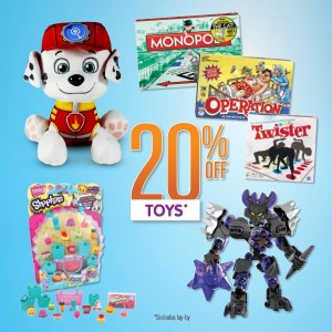 Big W 20pc Off September 2015