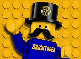 Bricktober Perth Minifigure Logo Small