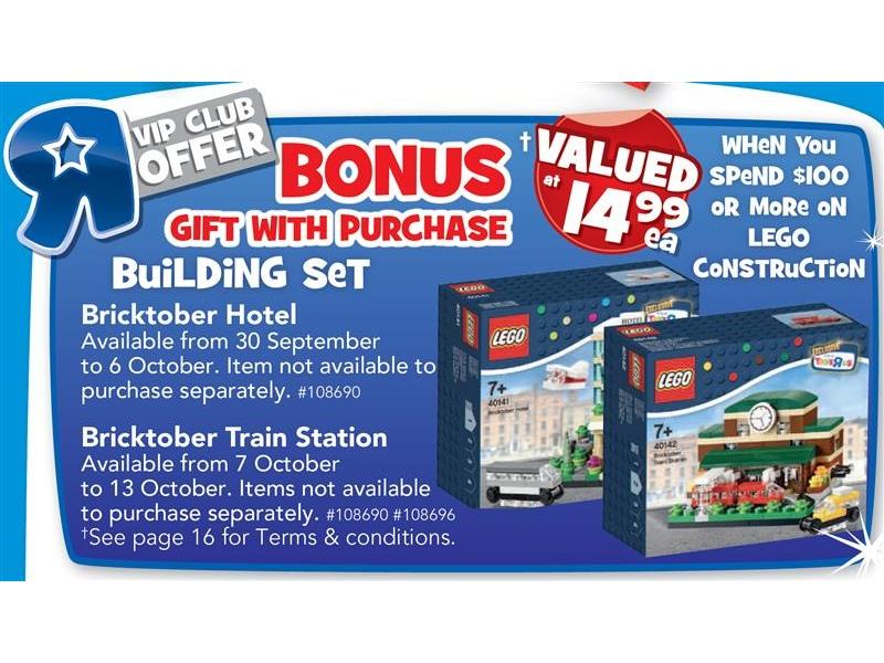 Bricktober Promotion 2015 Details