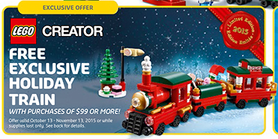Christmas Promotion Holiday Train