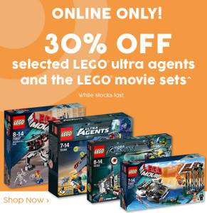 Target Ultra Agents LEGO Movie Clearance