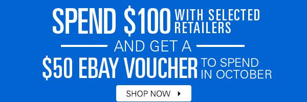eBay 100 get 50 voucher